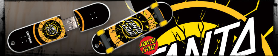 SkateDrive : Santa Cruz : Rob Dot Fade Model