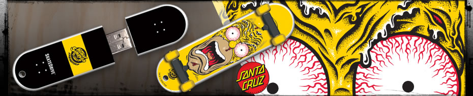 SkateDrive : Santa Cruz : Homer Face Model