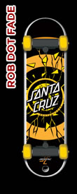 Santa Cruz SkateDrive Rob Dot Fade Model